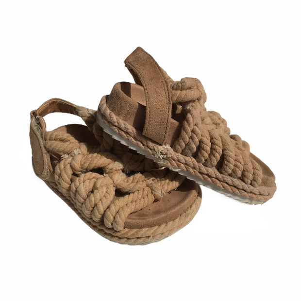 Façade rope sandals size 22