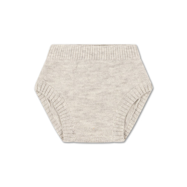 Knit bloomer light mixed grey