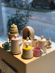 Raduga Grez tea set pastel