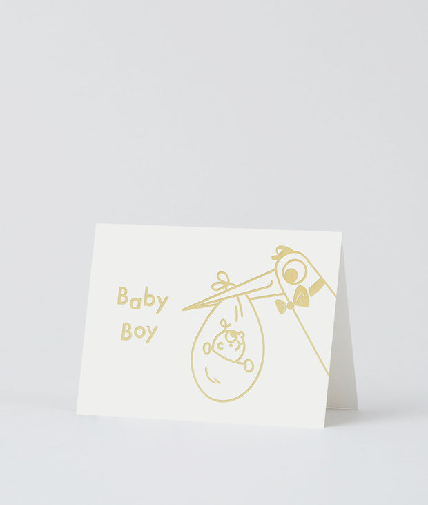 Wrap art mini card - Baby boy