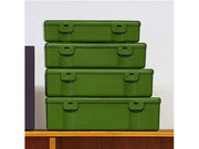 Penco Storage Container set of 4  green