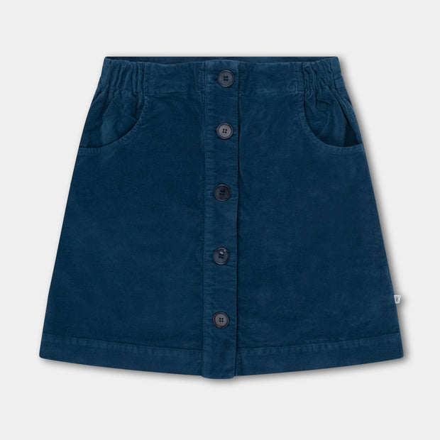 A line skirt  Dark Sea Blue