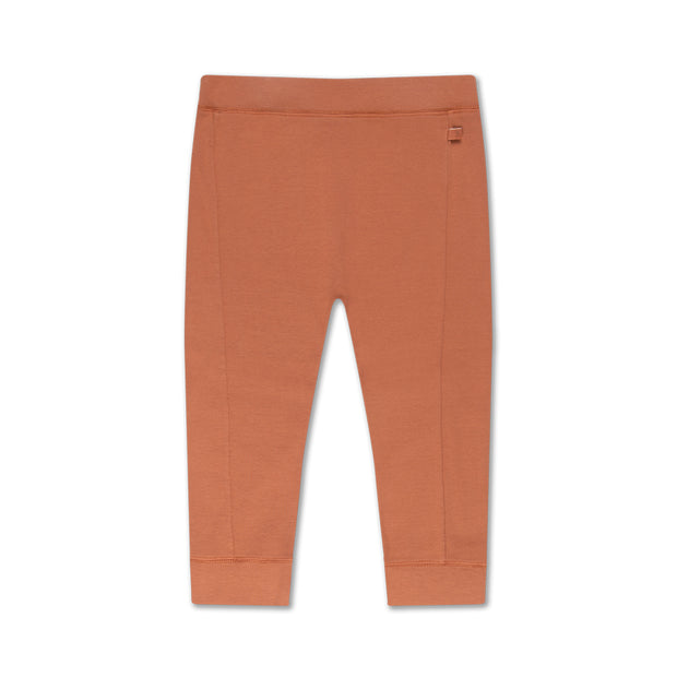 pants in warm caramel