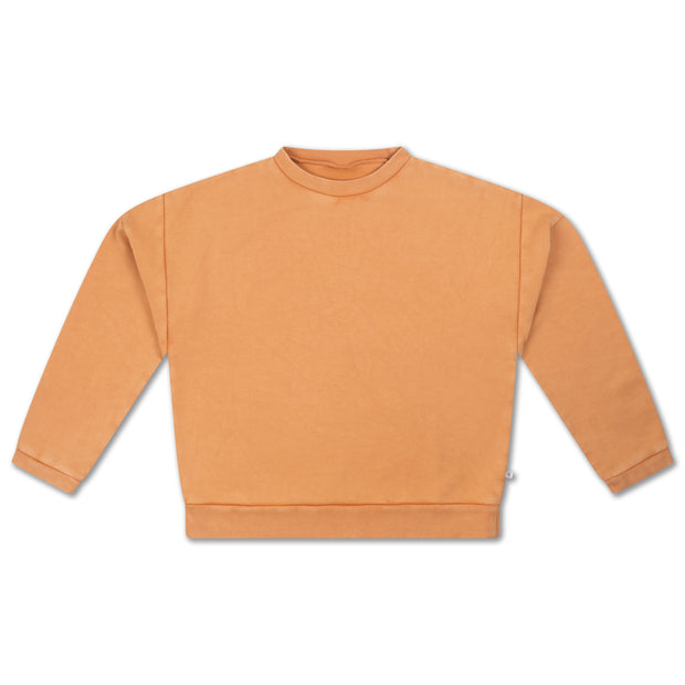 Crewneck sweater latte