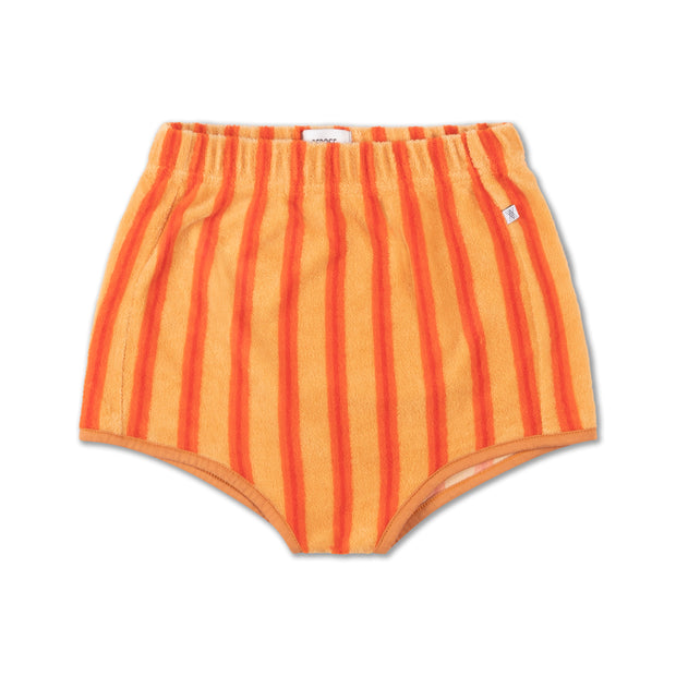 Mini short sandy sand red stripe