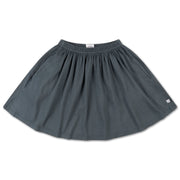 Mini skirt midnight grey