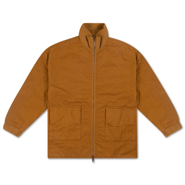 Padded jacket khaki brown