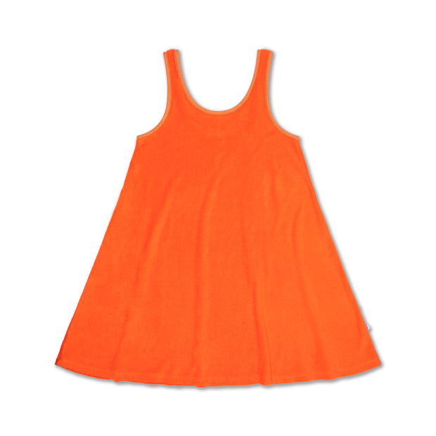 Sunny dress red orange