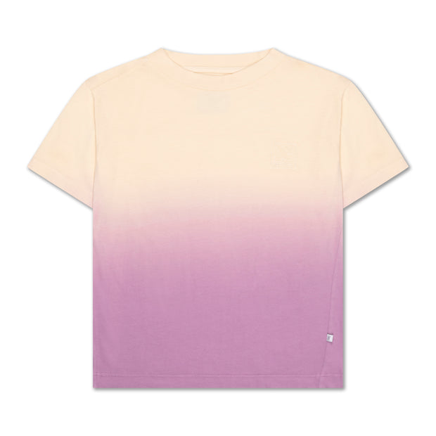 Tee shirt sandy lilac gradient