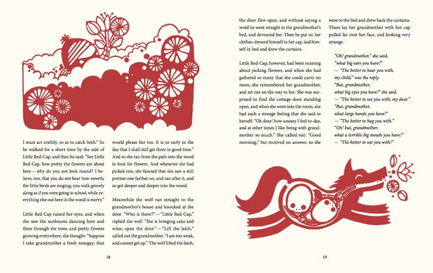 The illustrated Fairytales by Grimm