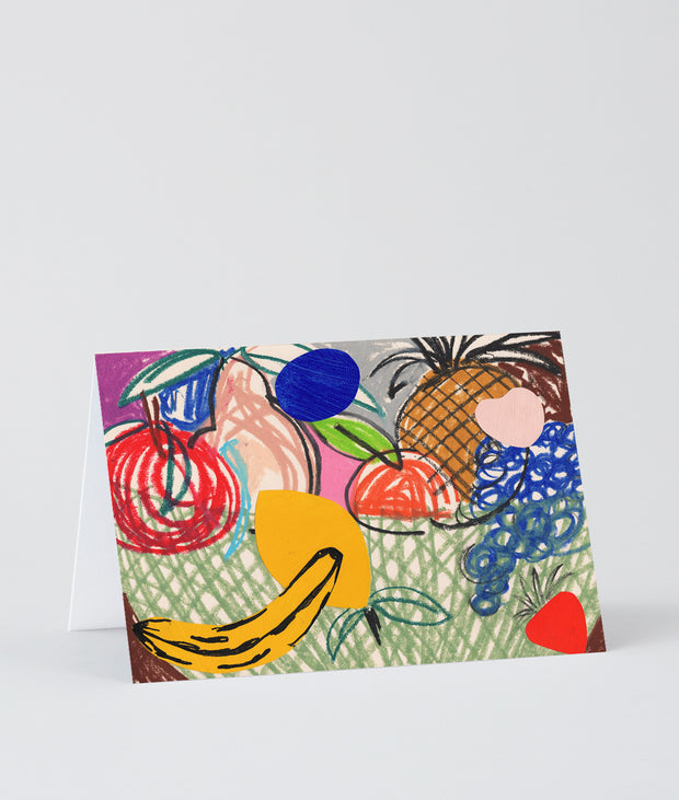 Wrap art card - Basket
