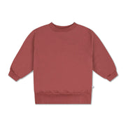 Classic sweater washed brick