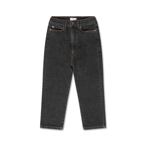 Denim 5-pocket charcoal