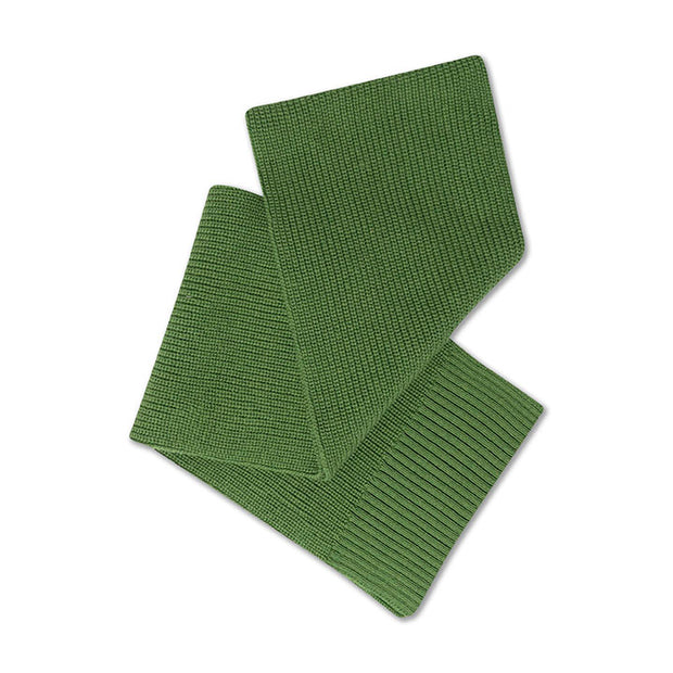 Knit scarf small hunter green