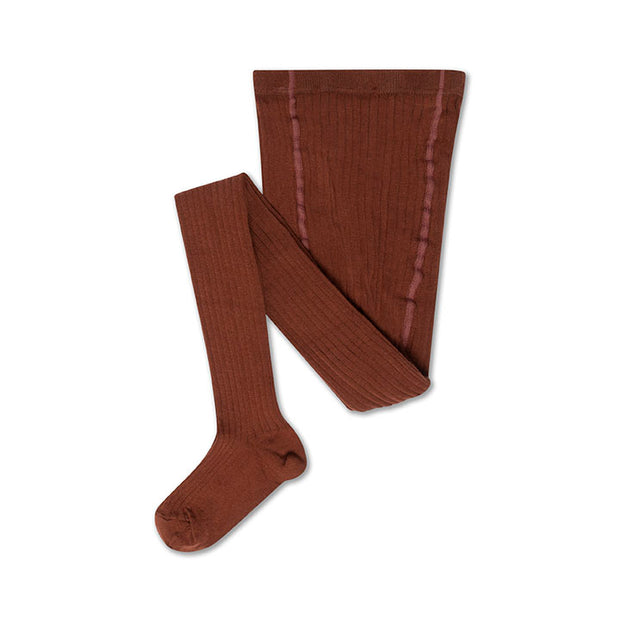 Tights chocolate brown