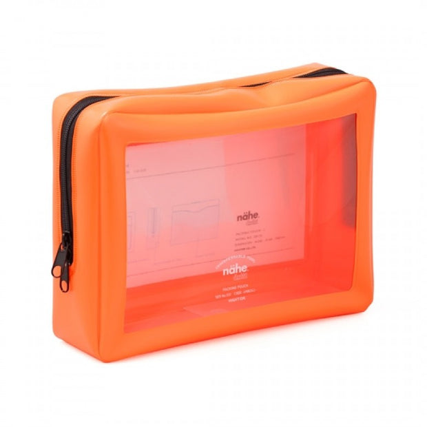 Nähe Hightide packing pouch neon orange (L)