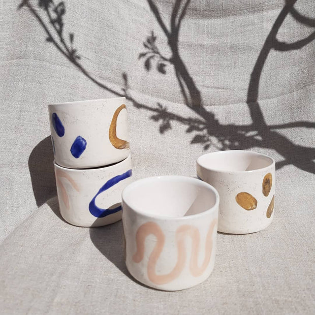 Neeltje Geurtsen set of two earless mugs