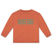 Long sleeve burnt autumn