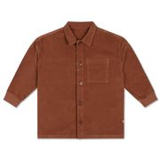 Classic shirt chocolate brown