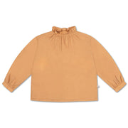 Ruffle blouse warm sand