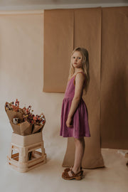 Singlet dress - purple violet