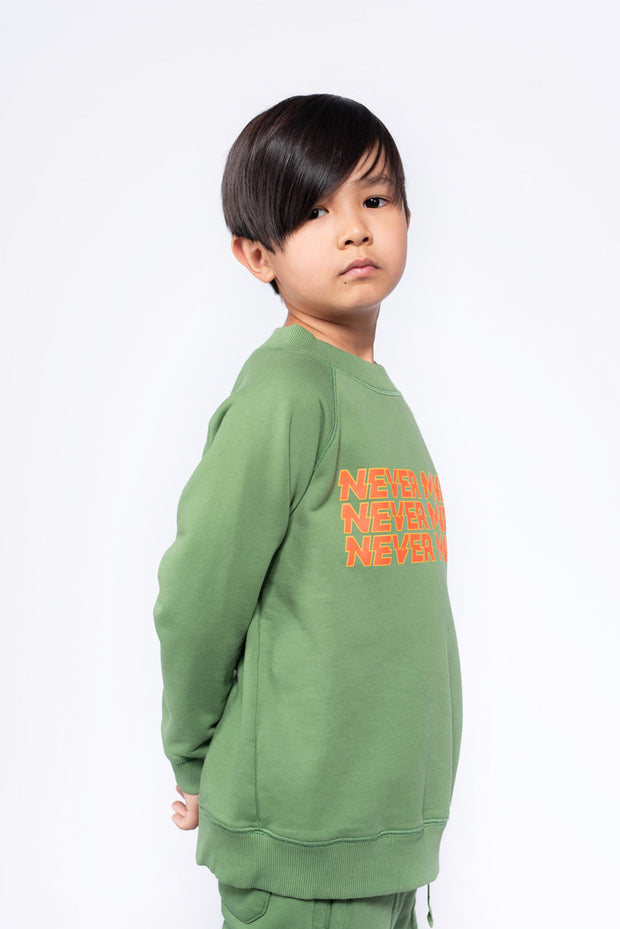 Classic sweater hunter green