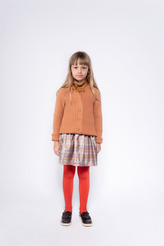 Tights firy red