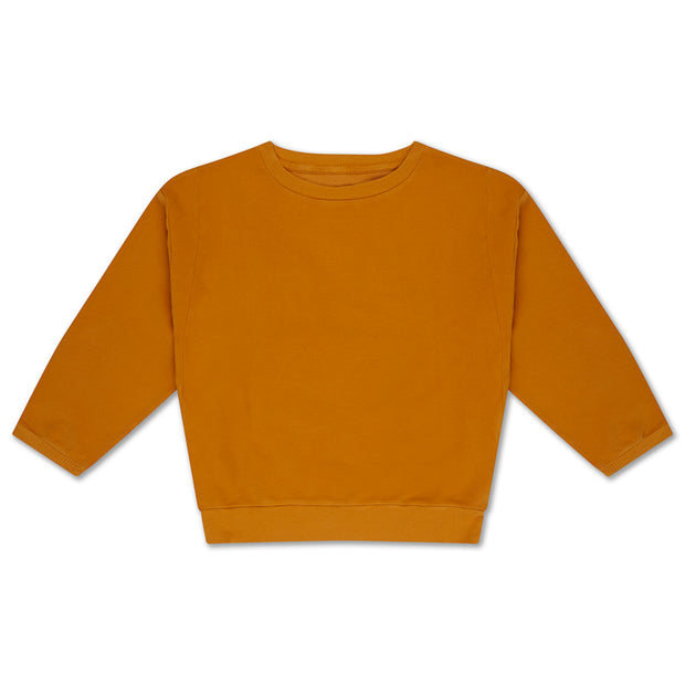 Crewneck sweater sun gold