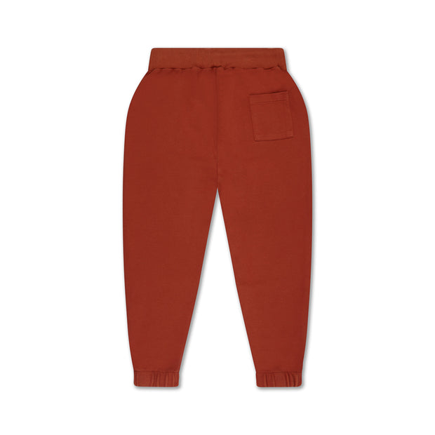 Sweatpants greyish crab red