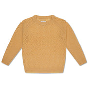 Knit sweater pale yellow