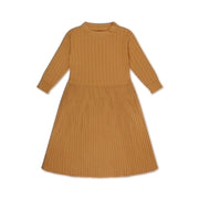 Knit dress warmed caramal