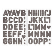 Midori Electrostatic Wall Stickers - Letters