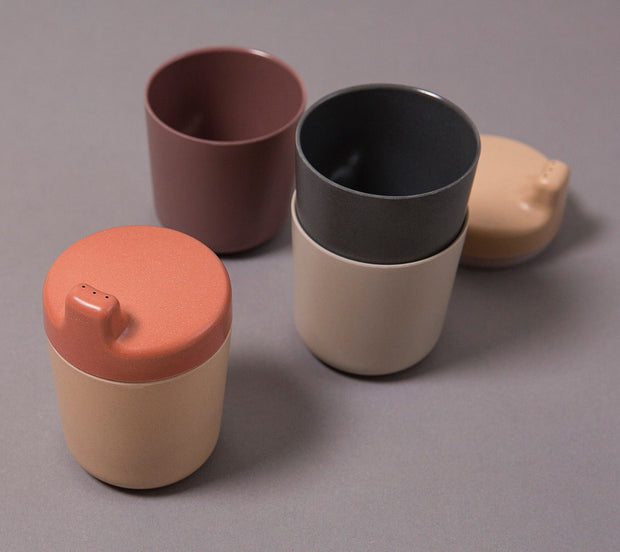 Cink bamboo sippy cup lid brick