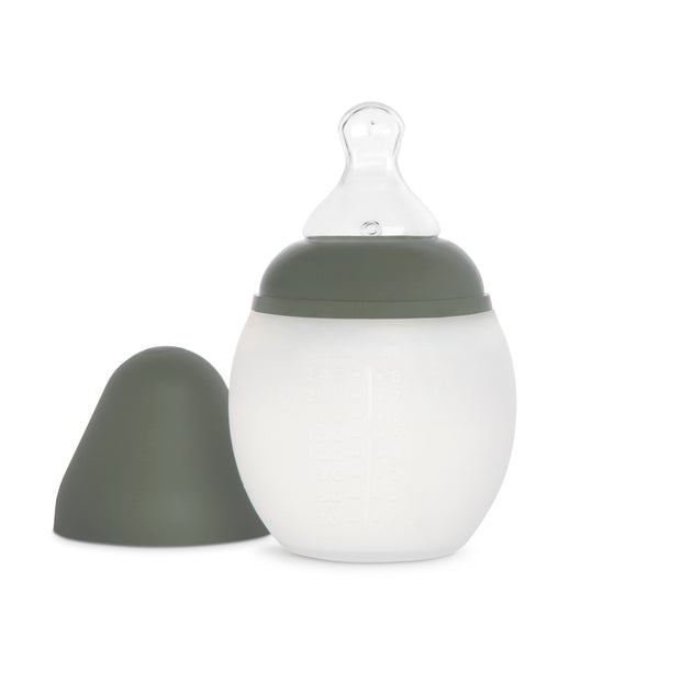 Elhée Baby bottle in khaki