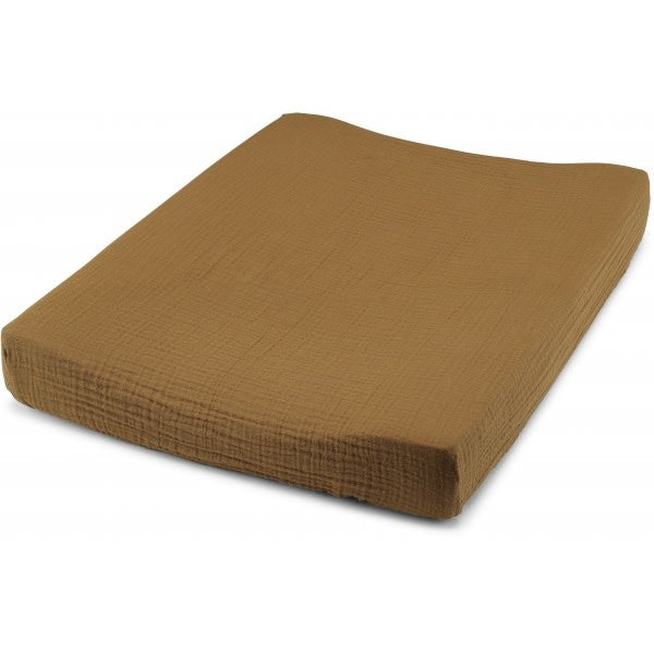 Konges Sløjd fitted sheet for changing cushion, dark honey
