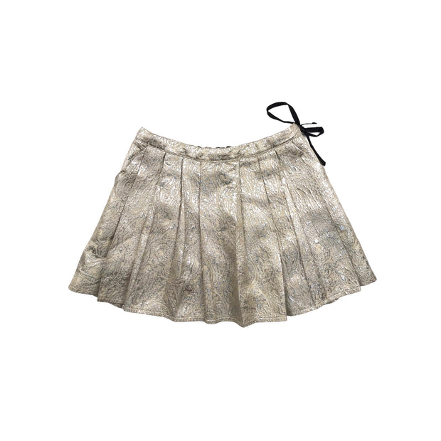 MAAN belgium silver party skirt 10 years