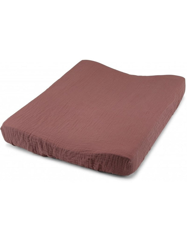 Konges Sløjd fitted sheet for changing cushion, sadder wood