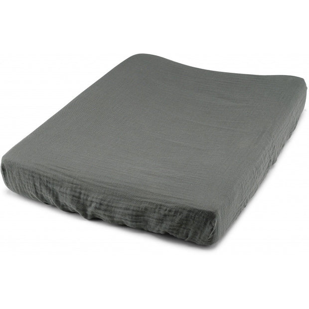 Konges sløjd fitted sheet for changing cushion, teal