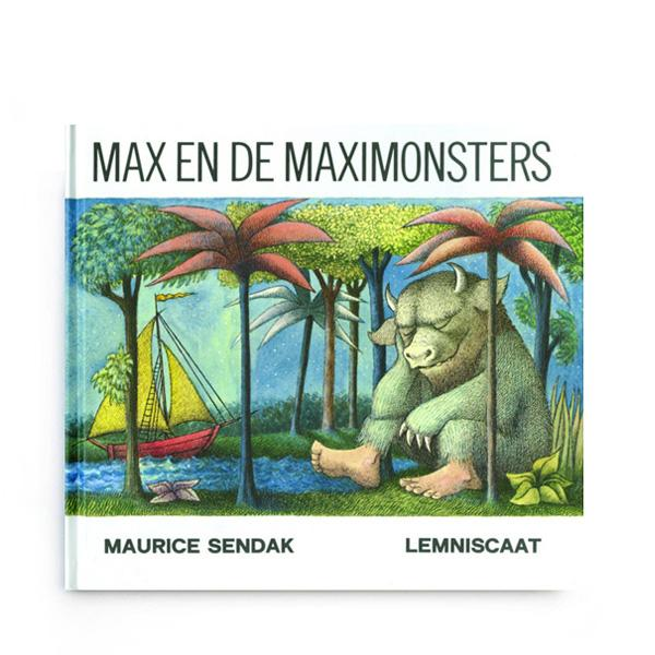 Prentenboek Max en de maxi monsters