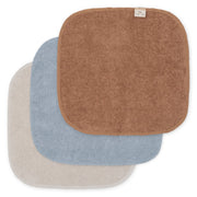 Konges Sløjd 3-pack terry wash cloths - thunder