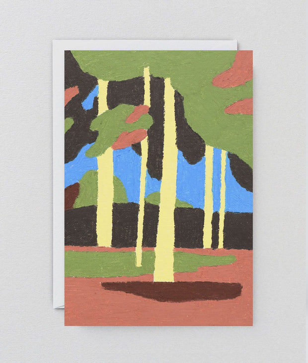 Wrap art card - Yellow forest