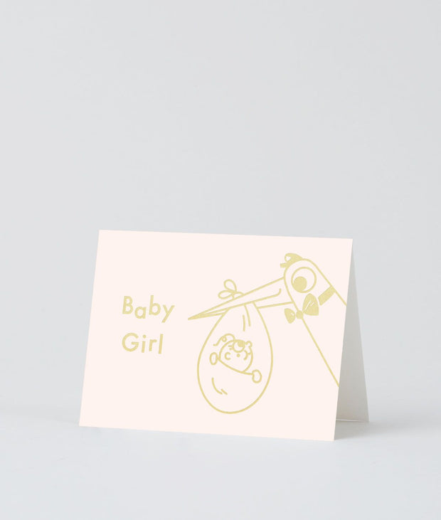 Wrap art mini card - Babygirl