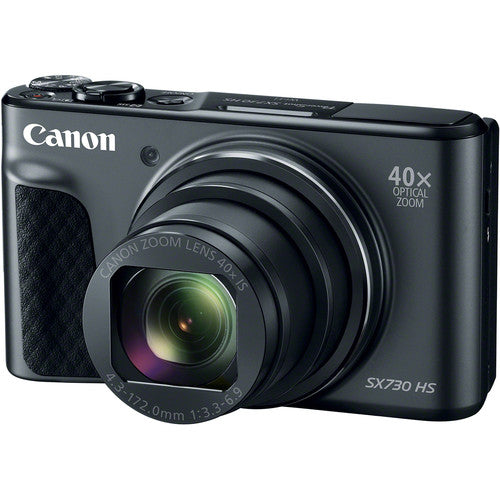 Canon PowerShot SX730 HS Digital Camera Black Digital Camera get best offers deals free and coupons online at buythevalue.in