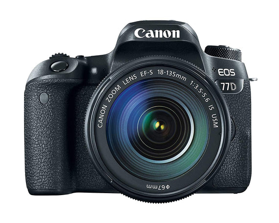 Canon EOS 77D Kit EFS18135 IS USM Digital Camera get best offers deals free and coupons online at buythevalue.in