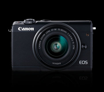 Canon EOS M100 Kit EFM1545 IS STM Digital Camera get best offers deals free and coupons online at buythevalue.in