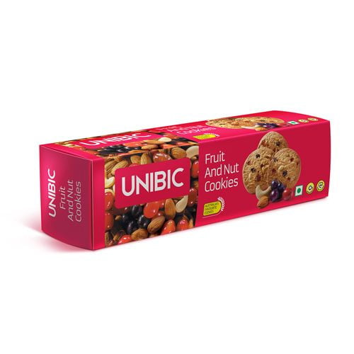 Unibic Cookies - Fruit & Nut 150 gm Carton - Buythevalue.in