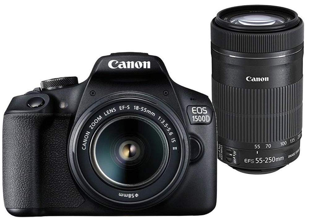 Canon DSLR EOS 1500D EFS 185555250 MM VR KIT Digital Camera get best offers deals free and coupons online at buythevalue.in