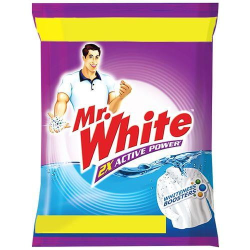 Mr. White Detergent Powder 1 kg - Buythevalue.in