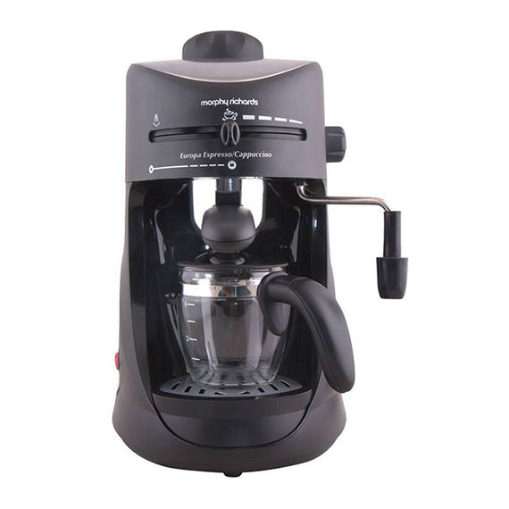 Morphy Richards New Europa Espresso/Cappuccino Coffee Makerget best offers deals free and coupons online at buythevalue.in