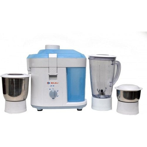 Bajaj JX 10 450-Watt Juicer Mixer Grinder-White/Blueget best offers deals free and coupons online at buythevalue.in